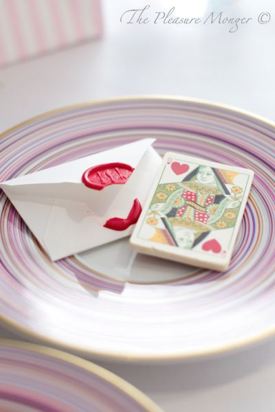 Heston's The Fat Duck – Get A Table or Die Trying The Queen of Hearts (a berry compote tart encased in white chocolate and printed to look like a playing card).
