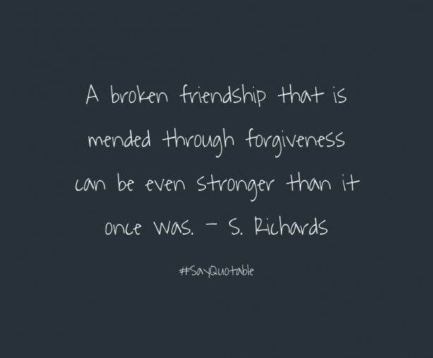 Broken Hurt Friendship Quotes