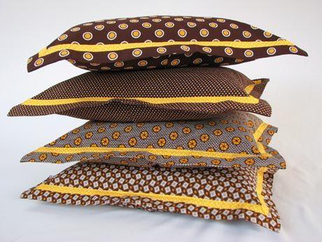 Shweshwe cushions