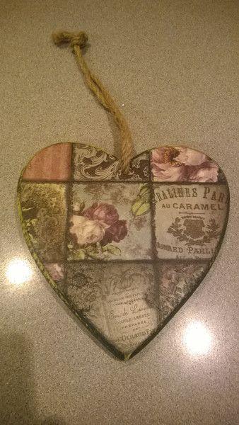 Wooden heart van Something Different op DaWanda.com