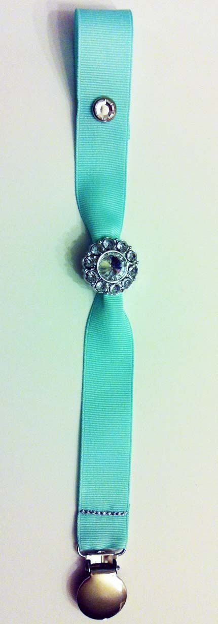 Pacifier Clips The Luxury Collection Tiffany by SweetSeraphina