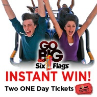 six flags one day pass price