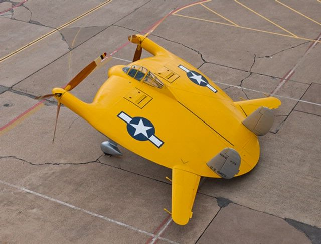 Vought V-173 Flying Pancake - Restored for museum display