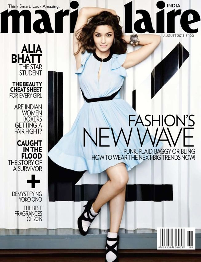 32 best alia bhatt magazine covers images on pinterest alia marie claire india august 2013 alia bhatt on the magazine cover thecheapjerseys Gallery