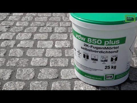 Saubere Oberflächen mit vdw 850 plus 2K-FugenMörtel