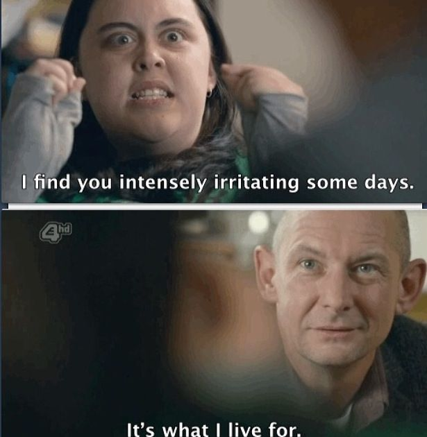 """Rae finds Kester, """"intensely irritating!"""" (My Mad Fat Diary)"""