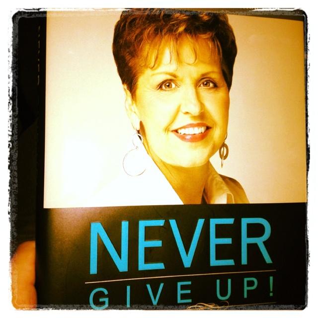 Joyce Meyer - Never Give Up