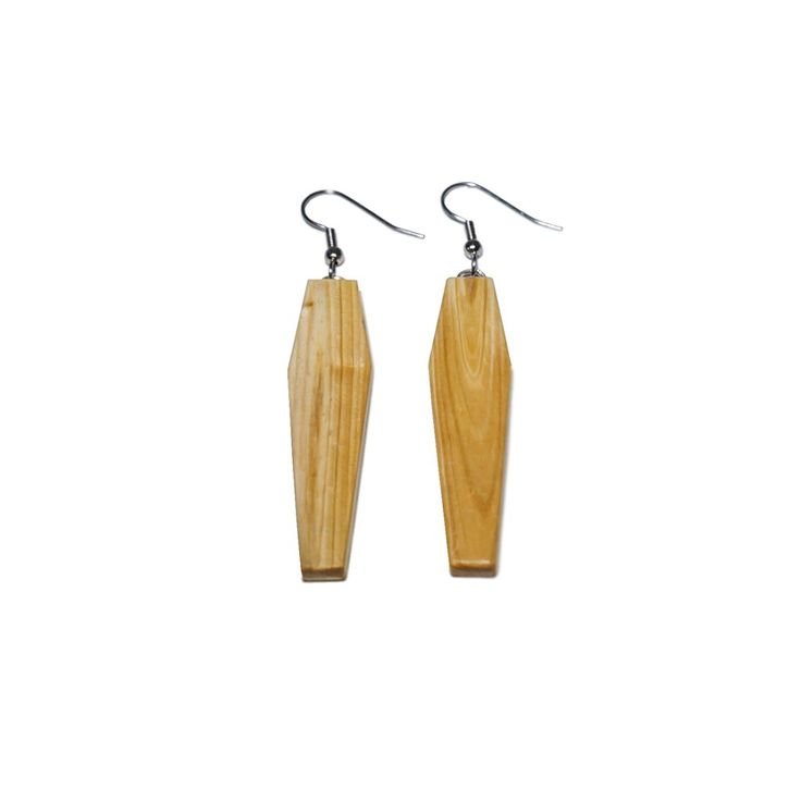 COFFIN EARRINGS | http://dekoeko.com/product/coffin-earrings-2/ | Kup na www.dekoeko.com