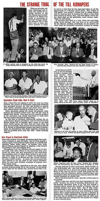 The Strange Trial of the Emmett Till Kidnapers - Jet Magazine, October 6, 1955 | Flickr - Photo Sharing!