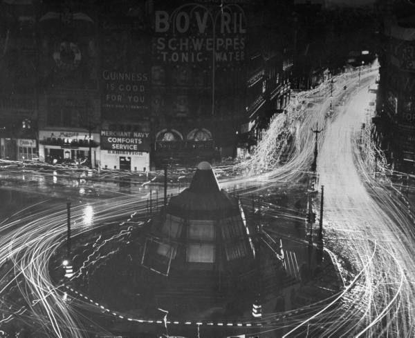 London Blackout, February 1944