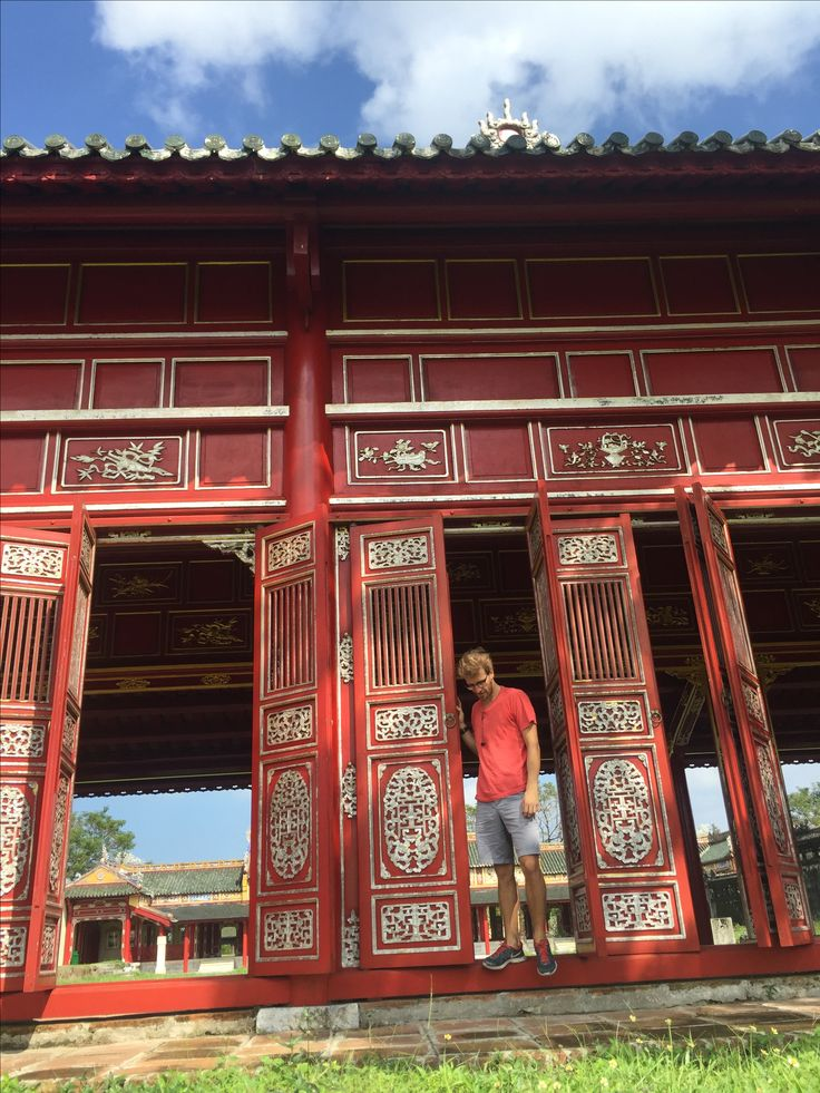 imperial city on hue at vietnam