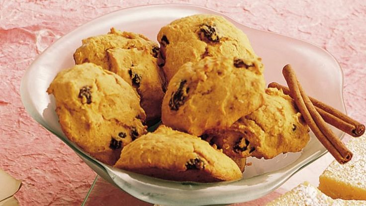 Fill your cookie jar with these spicy pumpkin drop cookies that are both tasty and filling!