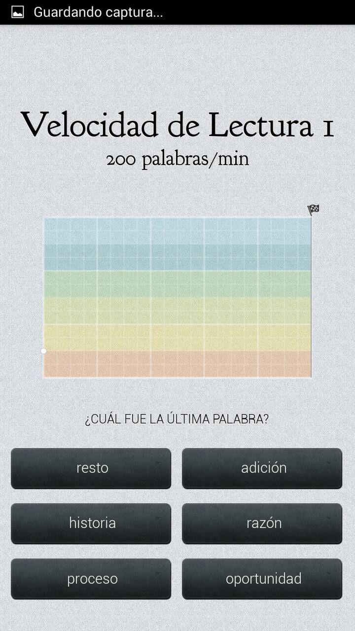 Súper PT: Velocidad de lectura, una aplicación para tablet o móvil.