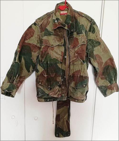 Uniforms - Congo Crisis 1960-1965. Original Belgian Denison Para - Commando Large Smock & Medal. FREE SHIPPING for sale in Vereeniging (ID:288623086)