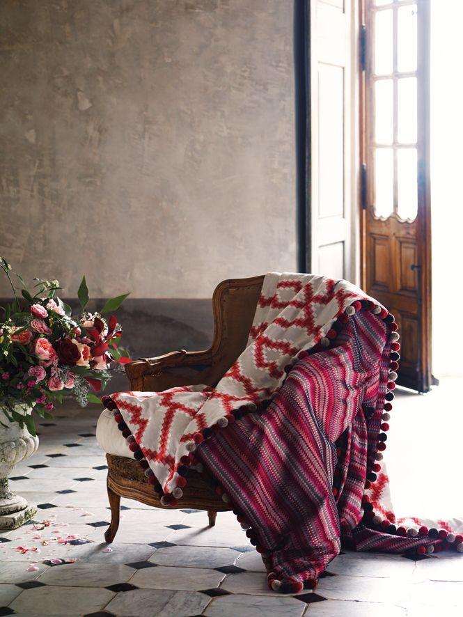 Auch diese Decke passt perfekt zum Sommer.  Fotocredits: ROMO