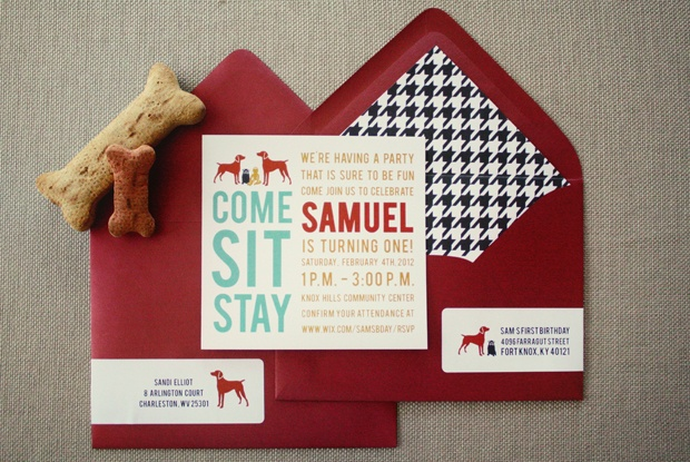 Dog Themed Party: Dogs Parties, Puppys Parties, Decor Ideas, 1St Birthday, Parties Ideas, 2Nd Birthday, Dogs Birthday Parties, Dogs Them Birthday, Birthday Parties Invitations