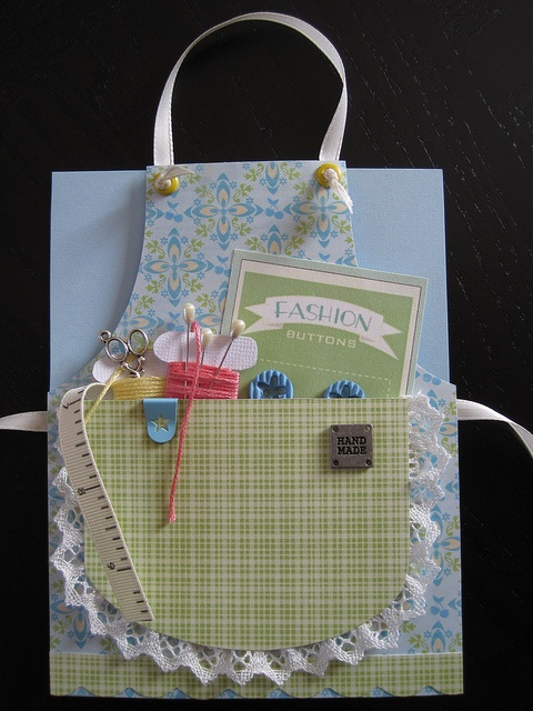 Apron card - Sewing #2 by cengland24, via Flickr