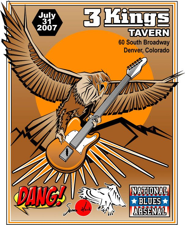 3 Kings Tavern – Eagle Guitar