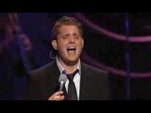 Michael Buble - Song for you: He AMAZED me when I saw him sing this live!