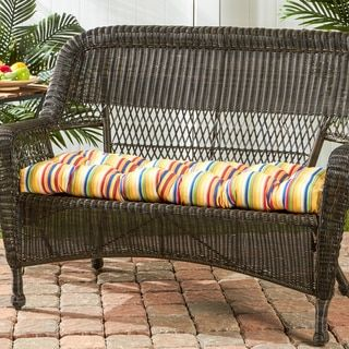 "46"" Sunbrella Outdoor Swing/Bench Cushion Stripes - Free Shipping On Orders Over $45 - Overstock.com - 17286207 - Mobile"