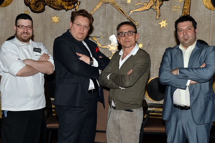 #BrunoBarbieri #MasterChef with #CastaDiva #Resort & #SPA  master management and chef #Alessio#Mecozzi!