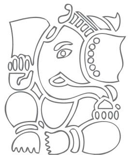 Zentangle Ganesha Calling..