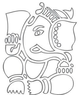Zentangle Ganesha Calling..