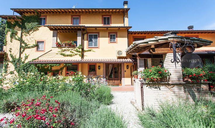 Amazing winter light: here in Assisi at Le Dimore di San Crispino Garden Resort & Spa www.assisibenessere.it