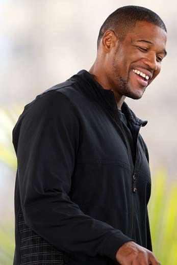Michael Strahan  I love his personality!