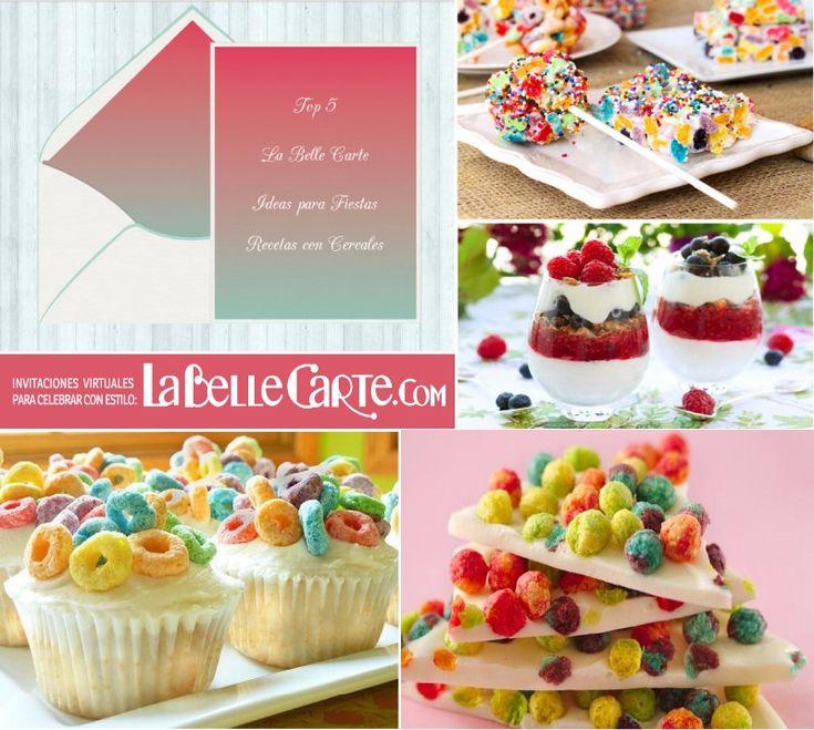 Invitaciones para merendar recetas con cerales ideas con for Ideas para comidas caseras