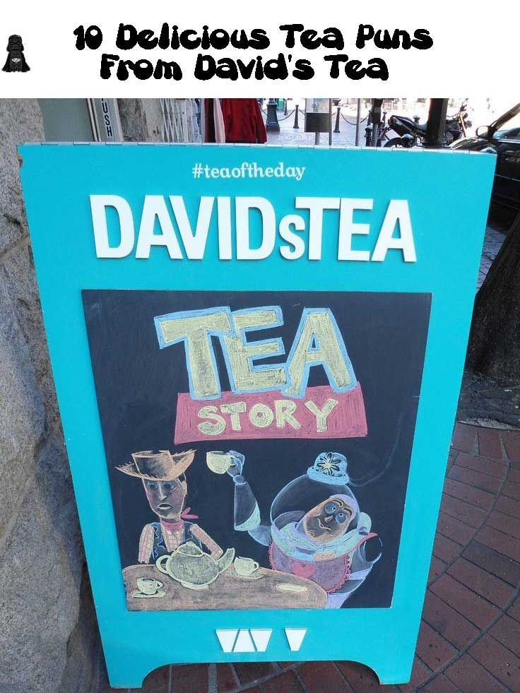 10 Delicious Tea Puns From David Tea