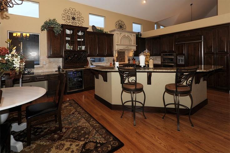 Stanisci Wood Range Hood (LABT Series) In Colorado Creative Cabinetry  Kitchen