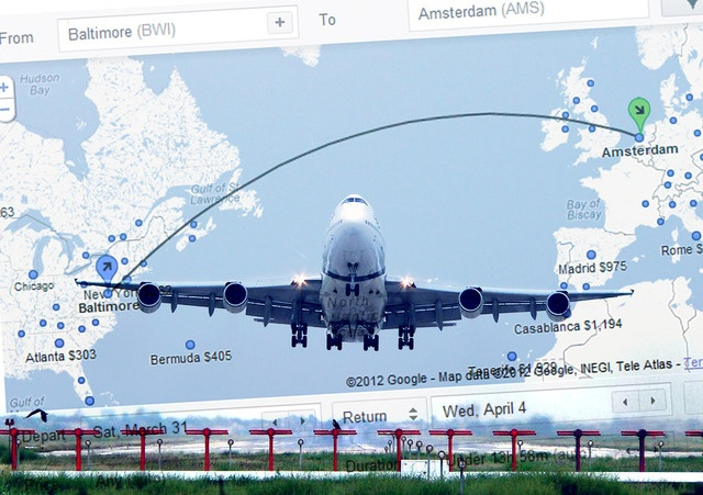Google Flight Search goes global