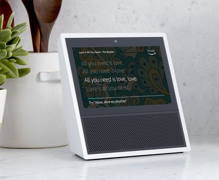 Amazons upcoming Echo Show will also support front door security cameras