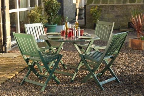 How to spray paint garden furniture   Rustoleum