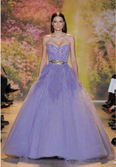 Purple dresses are so elegant! #dresses imdresses.com