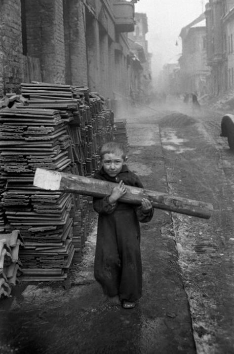 Erich Lessing: Budapest, 1956.