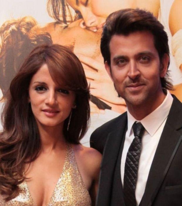 Hrithik Roshan et sa femme, un couple star de Bollywood