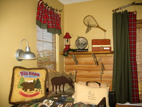 100 Best Images About Camping Room Decor On Pinterest Camping Bedroom Curtain Rods And Camps