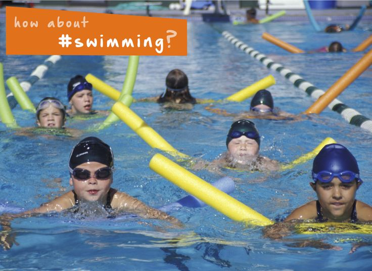 The kids can get ready for next summer by taking a winter #swimming lesson at your local #indoorpool! #familyfun #kidsactivities #winter #parenting