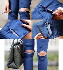 Resultado de imagen para fotos de jeans rotos