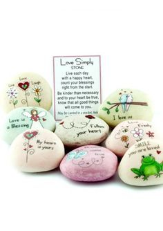 lucky stones - gifts for cancer patients
