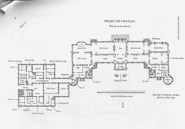101 best waddesdon manor images on pinterest castles On waddesdon manor floor plan