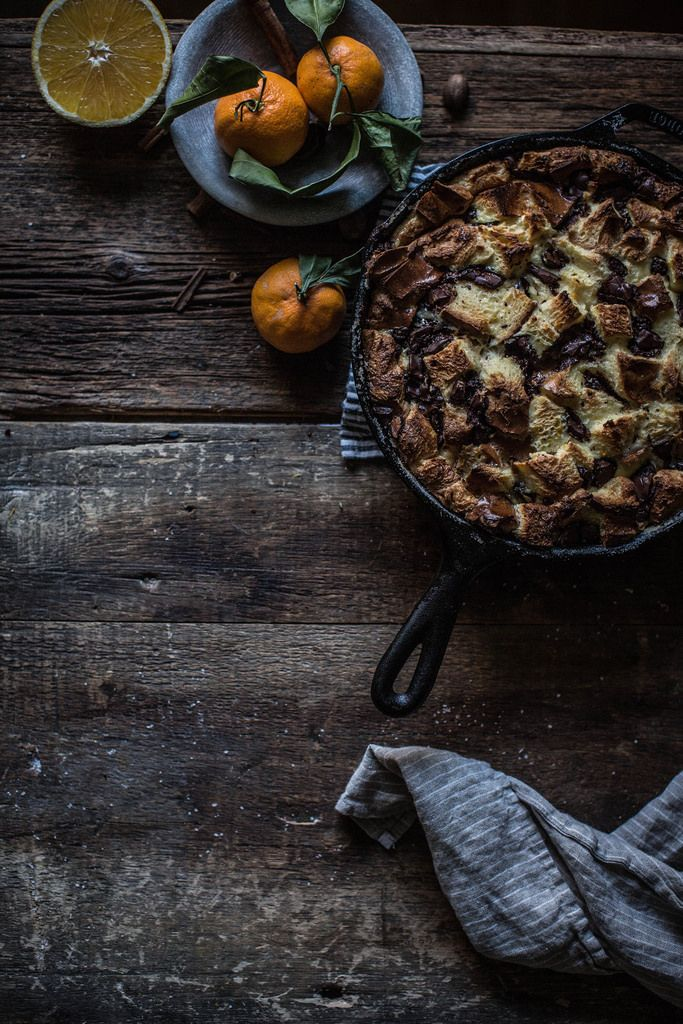 Local Milk | chocolate + orange bread pudding (a.k.a. easiest bread pudding ever)