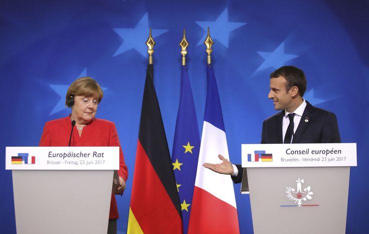 Le chef de l'État vise une perspective 2027 qui signale l'ampleur de la relance en gestation entre Paris et Berlin.