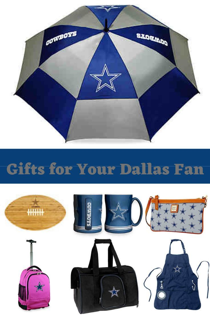 Gifts any Dallas Cowboy Fan will love. Whether it's raining and they need an umbrella or if they are cooking & grilling and need an apron.
