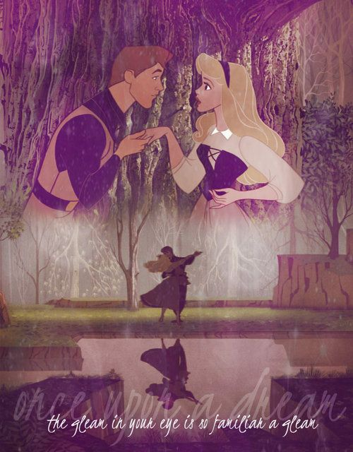 """...but when I know you, I know what you'll do, you'll love me at once the way you did once upon a dream."""""""