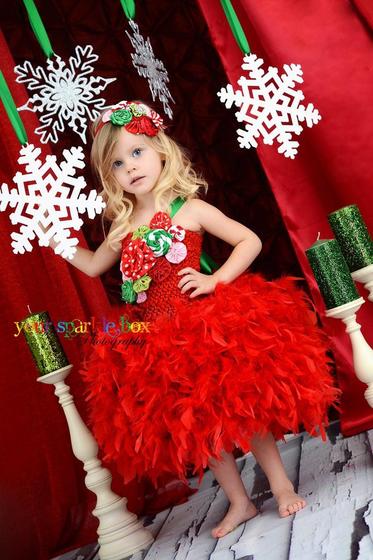 Fabulous feather skirt tutu dress - limited quantity left. $145.95, via Etsy.