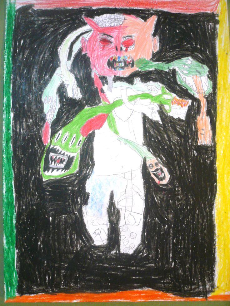 Dibujos de miedo. Maxi G.