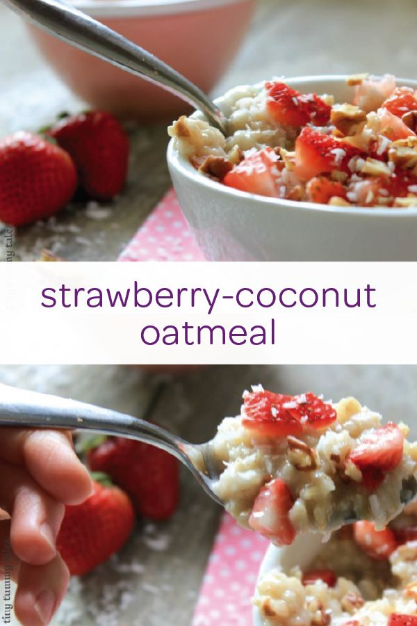 What could be more satisfying than a warm bowl of oatmeal in the morning? Try mixing up a classic breakfast staple with this easy strawberry-coconut oatmeal recipe. Let your little one help by mixing strawberry slices and coconut flakes into the oatmeal. Then, use a drizzle of honey on top for an extra dash of sweetness. This sweet breakfast treat uses good-for-you ingredients and will help keep your toddler full all morning long.